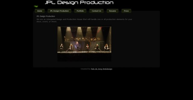 JPL Design Production
